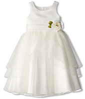 Us Angels - Tank Top Dress w/ Layers of Organza Skirt (Big Kids)