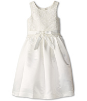 Us Angels - Lace Overlay With Satin Skirt Dress (Big Kids)