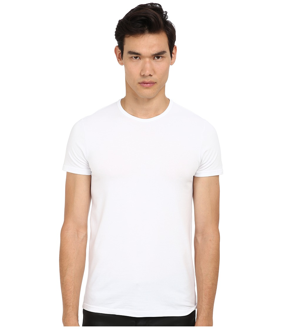Versace Iconic S/S Crew Neck Tee White Mens Short Sleeve Pullover
