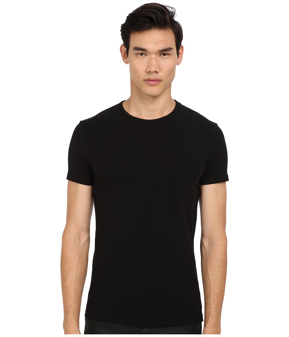 Versace Iconic S/S Crew Neck Tee Black Mens Short Sleeve Pullover
