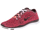 Nike Free 5.0 TR Fit 4 Print (Hyper Punch/White/Deep Burgundy)