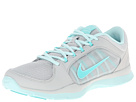 Nike Flex Trainer 4 (Light Ash Grey/Teal Tint/Hyper Turquoise)