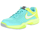Nike Air Cage Court (Bleached Turquoise/Volt/Silver Wing/White)