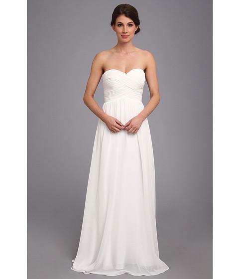 Faviana Strapless Sweetheart Chiffon Dress 7338