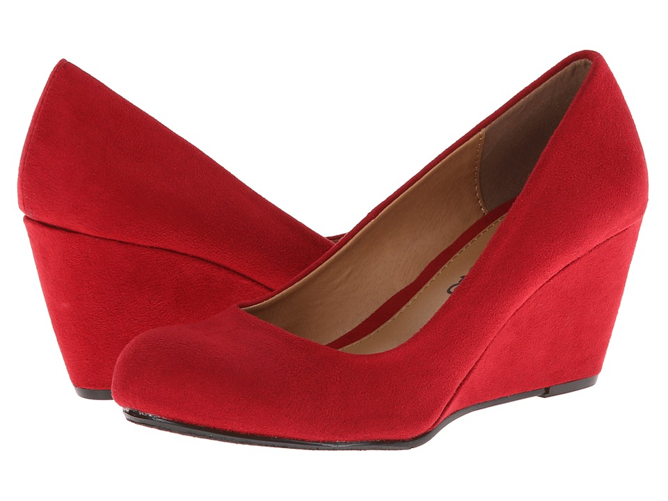 Dirty Laundry Nima (Chili Red) Women's Wedge Shoes
