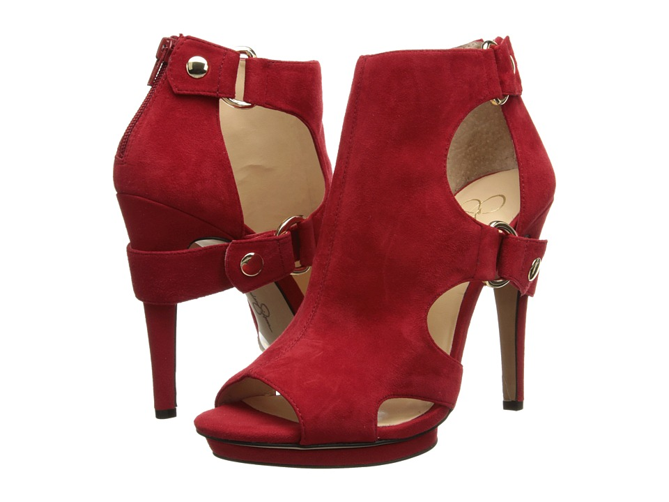 Jessica Simpson Faina (Lipstick Kid Suede) High Heels