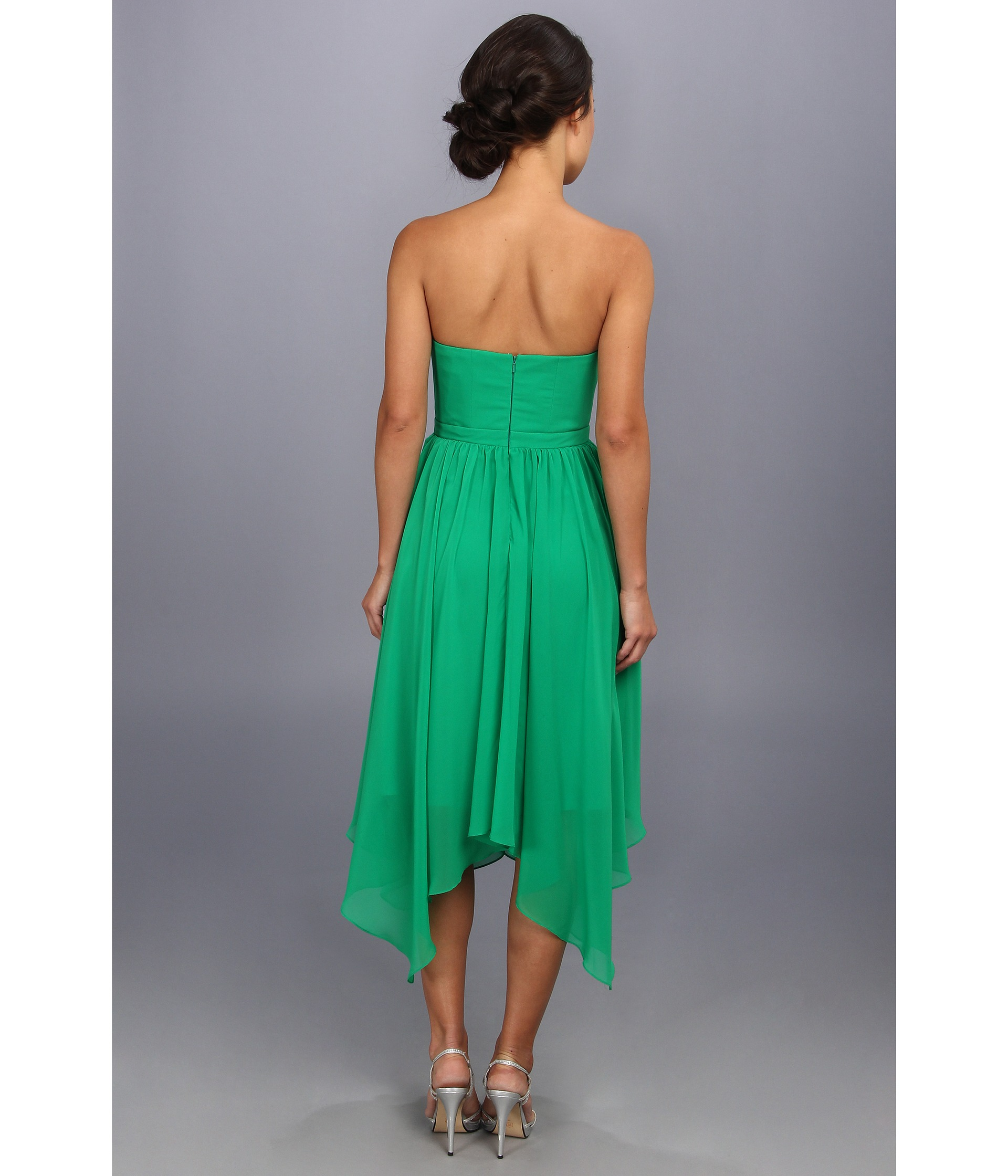 Cocktail Dresses With Handkerchief Hemline 27