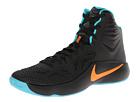 Nike Zoom Hyperfuse 2014 (Dark Magnet Grey/Magnet Grey/Hyper Turquoise/Total Orange)