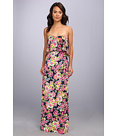 Badgley Mischka - Printed Floral Maxi Dress