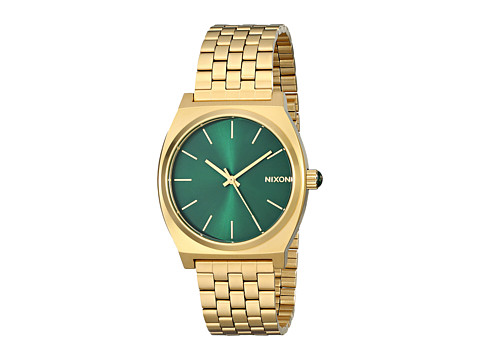 Nixon Time Teller - Gold/Green Sunray