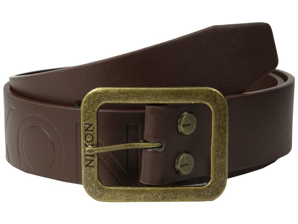 Nixon - De Facto Belt (Chestnut) Mens Belts