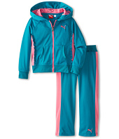 Puma Kids - Color Block Ruffle Tricot Set (Little Kids)