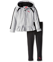 Puma Kids - Hooded Heather Knit Set (Little Kids)