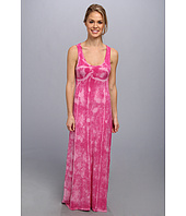 Pink Lotus - Seamed Maxi Dress w/ Twist Back