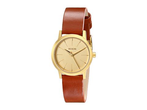 Nixon Kenzi Leather - Gold/Saddle