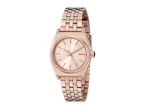 Nixon Small Time Teller - All Rose Gold