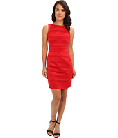 Christin Michaels - Sleeveless Ribbed Sheath Dress
