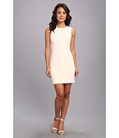 Christin Michaels - Sleeveless Sheath Crew Dress