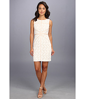 Christin Michaels - Sleeveless Sheath Lace Dress