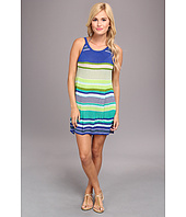 Echo Design - Pop Stripe Halter Dress Cover-Up