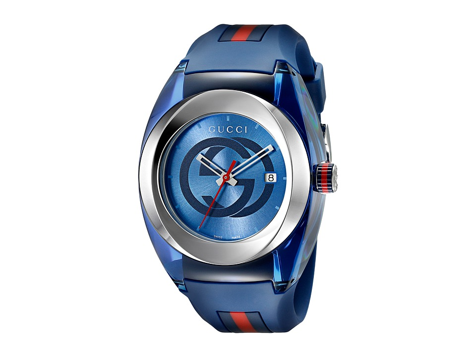 Gucci Gucci Sync XXL YA137104 Blue/Steel Watches