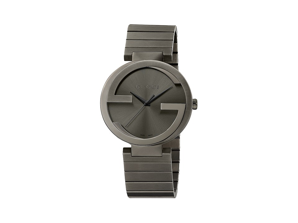 Gucci Interlocking XL YA133210 Anthracite Watches