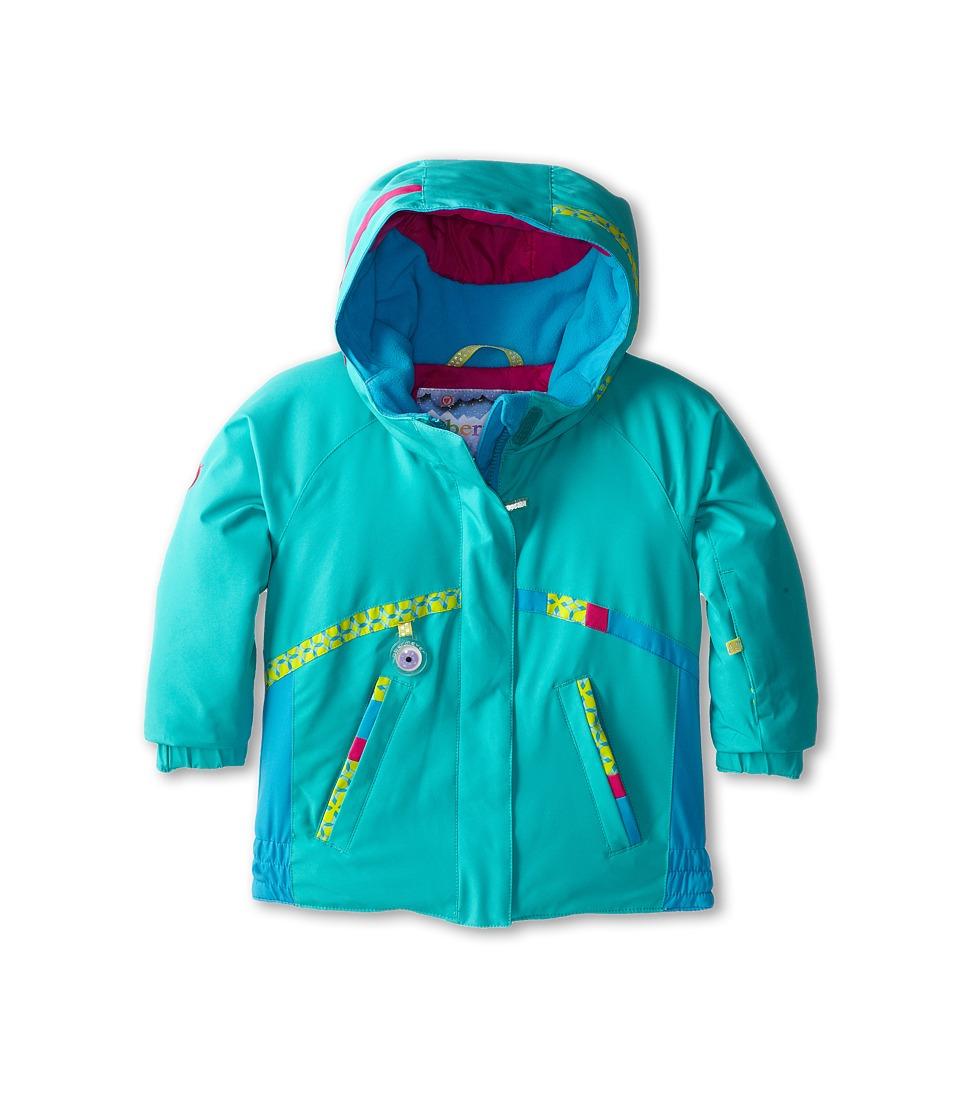 Obermeyer Kids Winx Jacket (Toddler/Little Kids/Big Kids) (Wintergreen) Girl's Coat