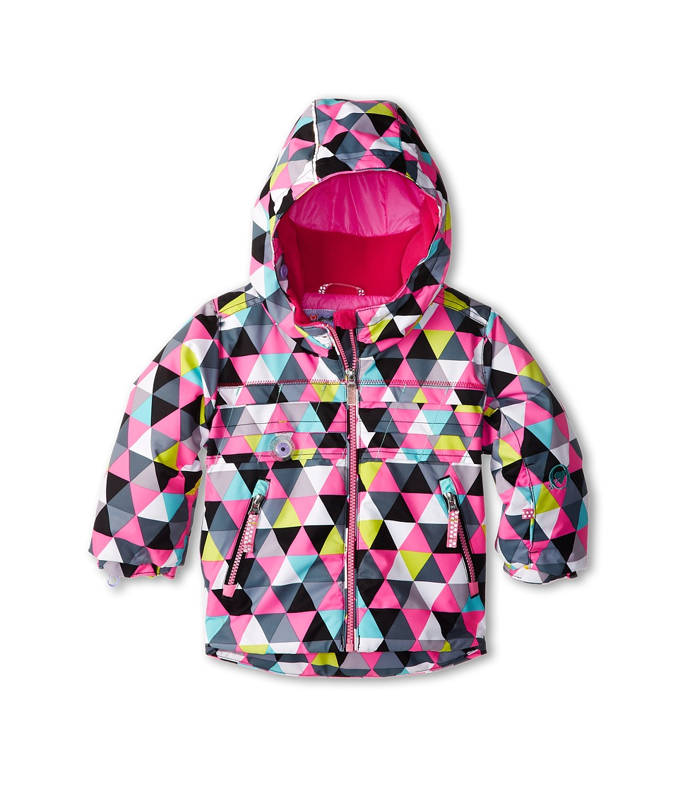 Obermeyer Kids Aurora Jacket (Toddler/Little Kids/Big Kids) (D-Squared Print) Girl's Jacket