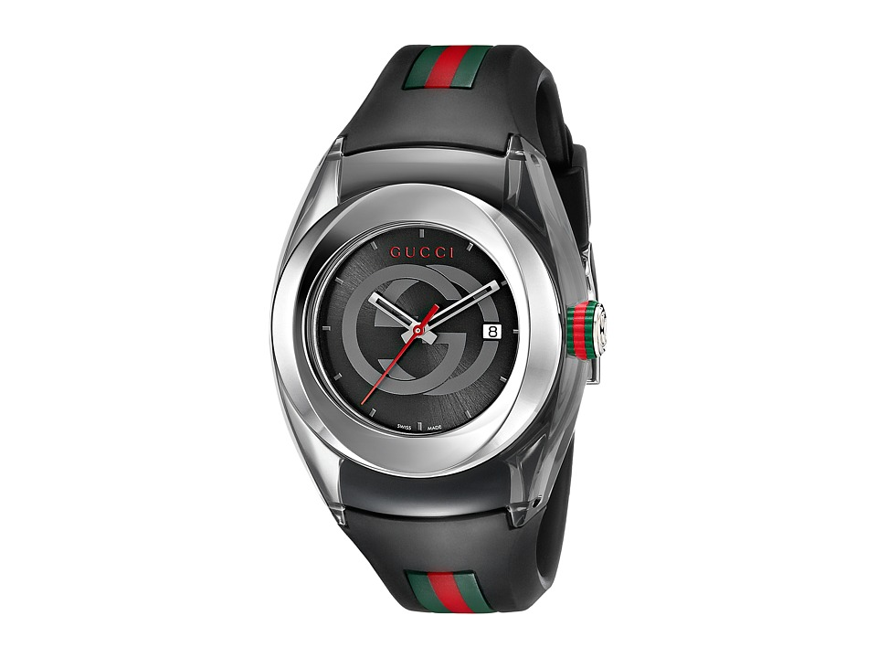 Gucci Gucci Sync LG YA137301 Black/Steel Watches