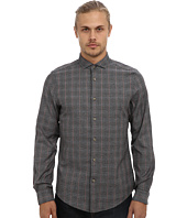 Ben Sherman - Long Sleeve Marl Prince Of Wales Check Woven MA10888