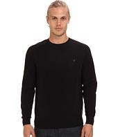 Ben Sherman - Saddle Sleeve Crew Neck Sweater w/ Chest Pocket