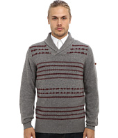 Ben Sherman - Fairisle Shawl Collar Sweater ME10742