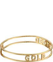 Kate Spade New York - Words of Wisdom Good As Gold Bangle