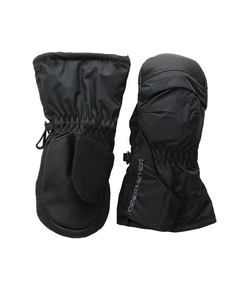 Obermeyer Kids Gauntlet Mitten (Toddler/Little Kid) (Black) Over-Mits Gloves