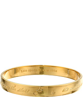 Kate Spade New York - Engraved Idiom Bangles - It's Written In The Stars