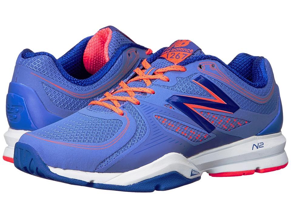 New Balance - WX1267 (Blue) Womens Cross Training Shoes