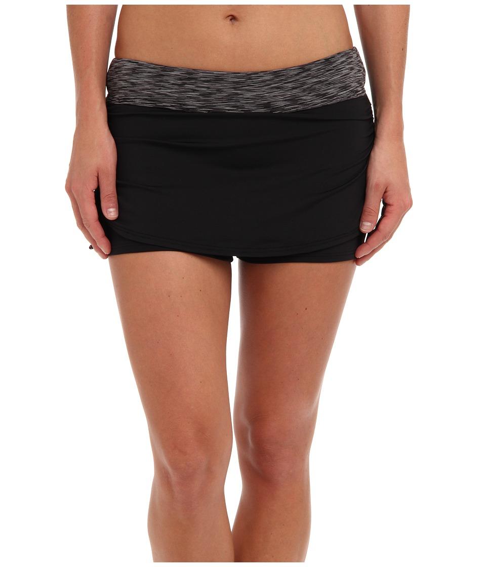 TYR Sonoma Active Mini Swim Skort (Black) Women