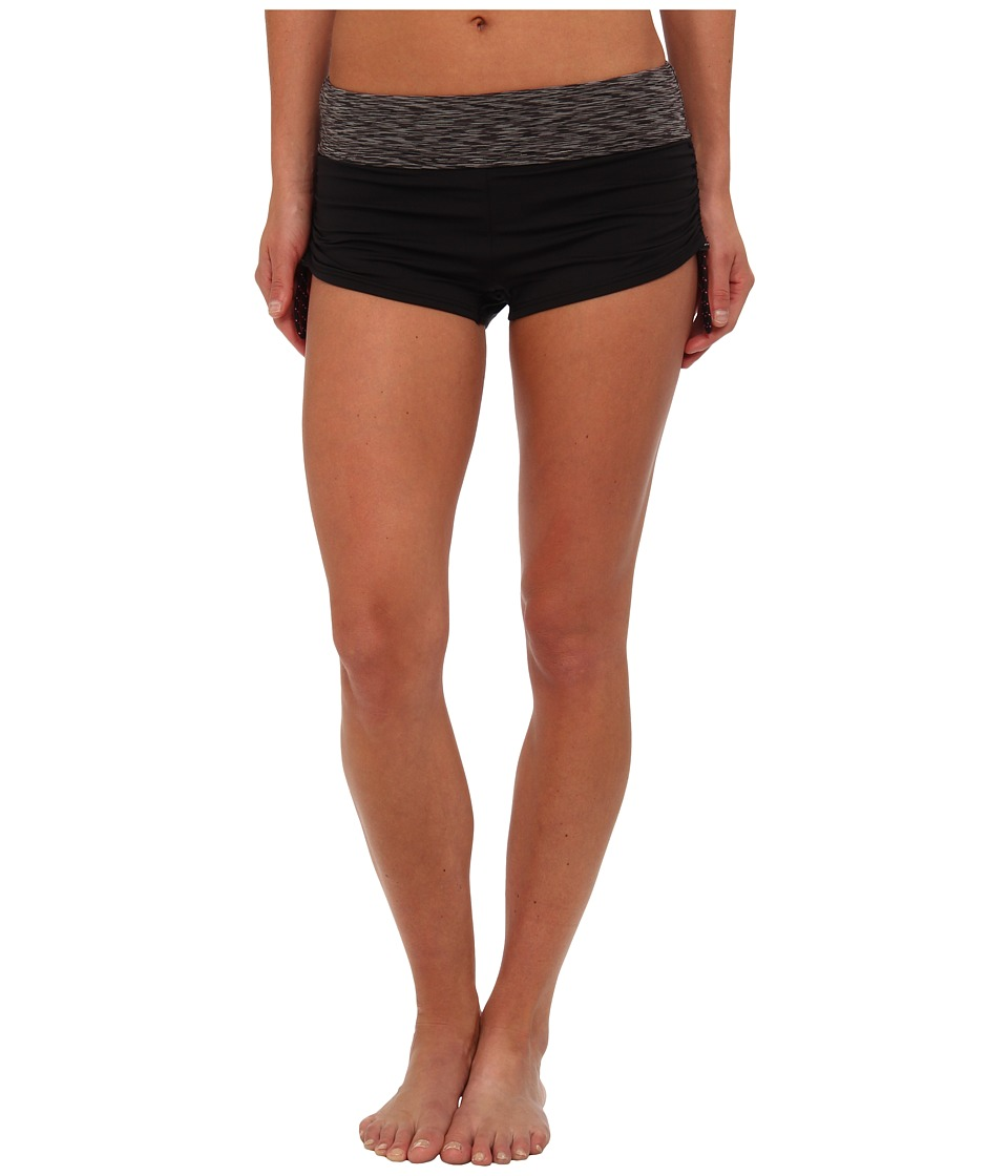 TYR Sonoma Active Mini Swim Boyshort (Black) Women