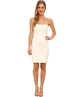 Nicole Miller - Techy Cotton Strapless Fitted Dress