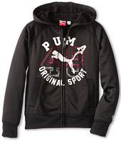 Puma Kids - Studded 48 Full Zip Hoodie (Big Kids)