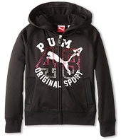 Puma Kids - Studded 48 Full Zip Hoodie (Little Kids)