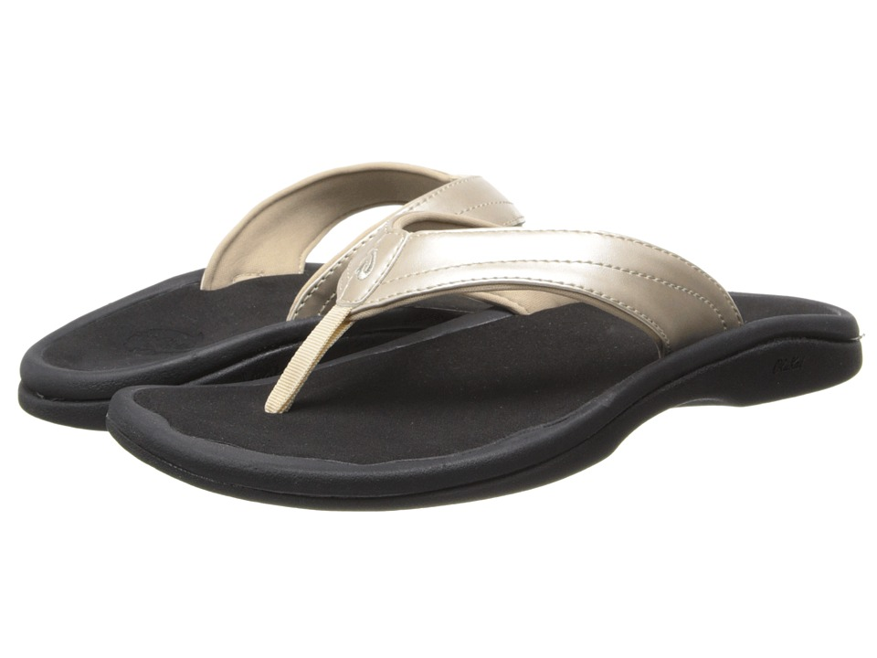 OluKai Ohana W (Bubbly/Black) Sandals