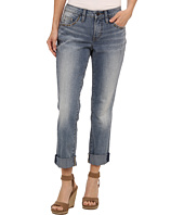 Jag Jeans Petite - Petite Henry Relaxed Boyfriend w/ Studs in Classic Vintage