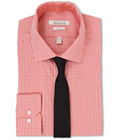 Perry Ellis - Slim Fit Spread Collar Check Shirt