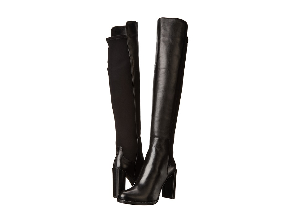 Shop Stuart Weitzman online and buy Stuart Weitzman Hijack (Black Nappa Leather) Women's Pull-on Boots shoes online