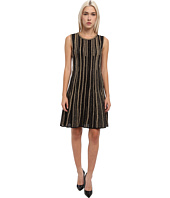 M Missoni - Lurex Vertical Stripe Sleeveless Dress
