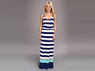 Sperry Top-Sider - A Coast Call Maxi Dress Cover-Up (Navy)