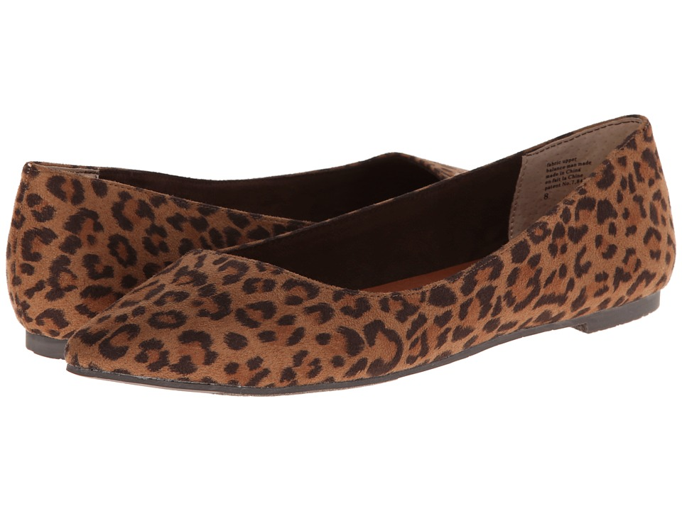 BC Footwear Rebel (Leopard) Women's Flat Shoes