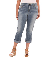 Jag Jeans Plus Size - Plus Size Henry Relaxed Boyfriend w/ Studs in Classic Vintage