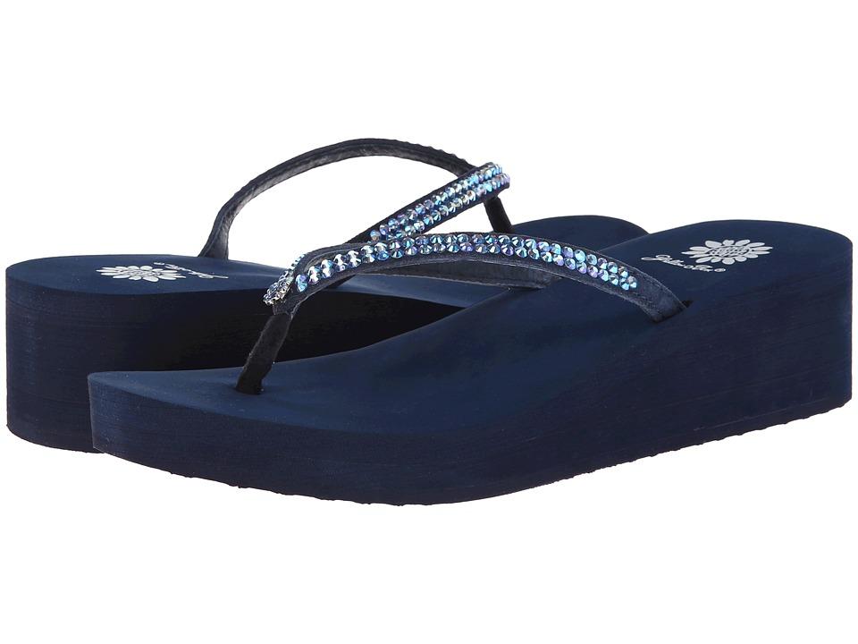 Yellow Box Custard Blue Womens Sandals